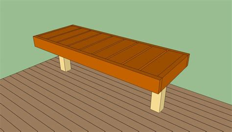 how to build a deck bench seat how to build a deck bench howtospecialist how to build
