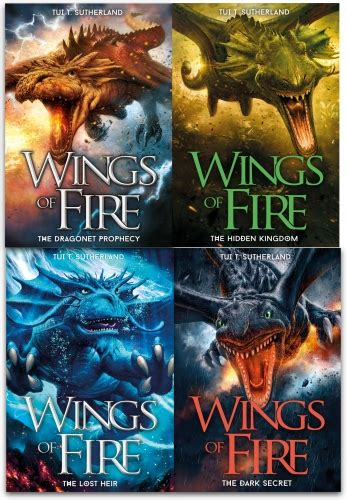 the wing collector books wings of collection tui t sutherland 4 books set