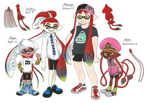 splatoon oc teams 2 by megaloceros urhirsch on deviantart