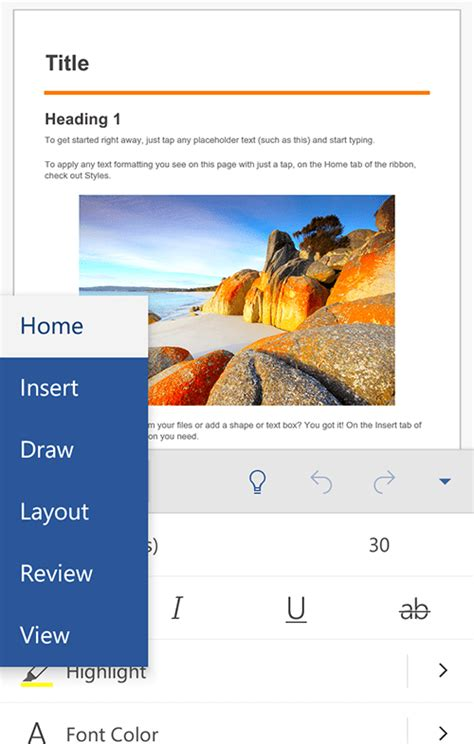 android word how to view edit and create office documents in android and ios