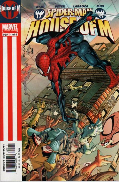 house of m spiderfan org comics spider man house of m