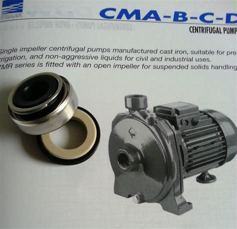 Mechanical Seal Ebara 25 industrial pumps and motor supply repairs sales