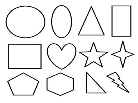 coloring pages with shapes for preschool 97 shapes coloring pages for kindergarten geometric