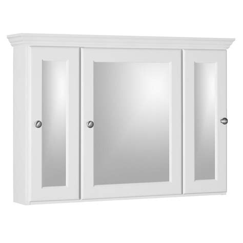 white bathroom medicine cabinet simplicity by strasser ultraline 36 in w x 27 in h x 6 1