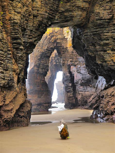 playa de las catedrales cathedrals beach near ribadeo lugo galicia northwest coast of