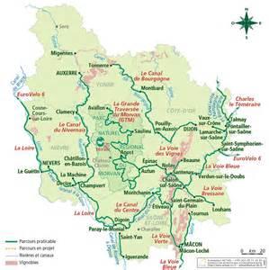 le comit 233 r 233 gional du tourisme de bourgogne la carte de