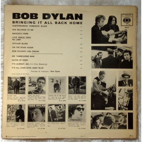 file bringing it all back home bbc tv soundtrack album bringing it all back home by bob dylan lp gatefold with