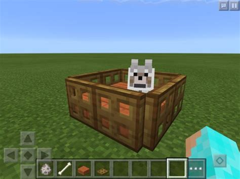 how do you make a dog house how to make a pet bed in minecraft pe 0 13 0 5 steps