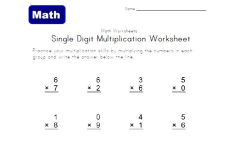 Common Math Worksheets 3rd Grade by Multiply And Divide Within 100 3rd Grade Math Math Chimp