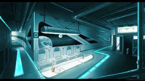 Sci Fi Interior by Space Station On Futuristic Interior Sci Fi