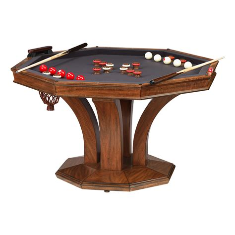Bumper Pool Dining Table Treviso Octagonal Dining Table W Bumper Pool Darafeev