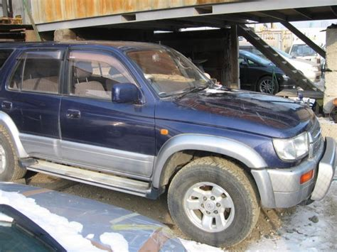 1997 Toyota Hilux Surf 1997 Toyota Hilux Surf Pictures For Sale