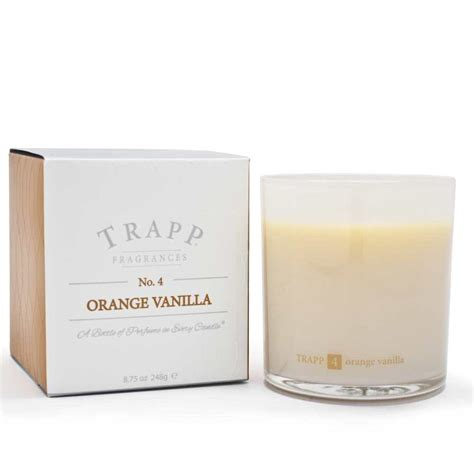 Trapp Candles Trapp Candles No 4 Orange Vanilla 8 75 Oz Poured Candle