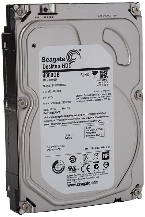 Hdd Seagate 4tb Desktop Sata 3 5 Inch Harddisk seagate sata 6gb s 3 5 inch 4tb desktop hdd