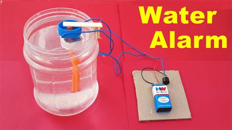 how to make water how to make a simple water level indicator alarm at home