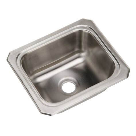 elkay stainless steel sinks elkay celebrity drop in stainless steel 13 in bar sink