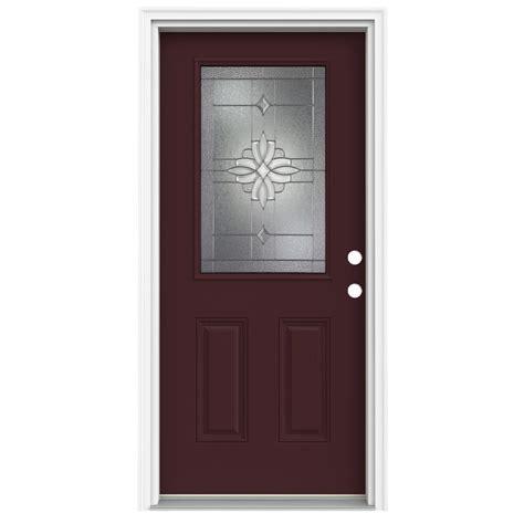 Half Doors Lowes shop reliabilt half lite decorative currant inswing
