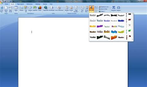 langkah langkah membuat halaman pada ms office word membuat word art pada microsoft office word tutorial