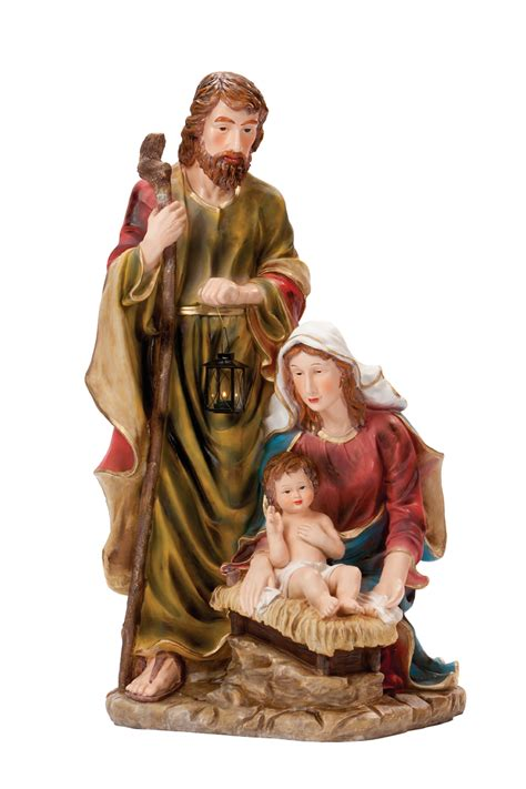 jesus christmas crib statue set buy holy family statues