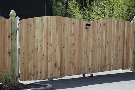 Fence Door by Pine Tree Home Wood Fence Gate With Galvanized Frame