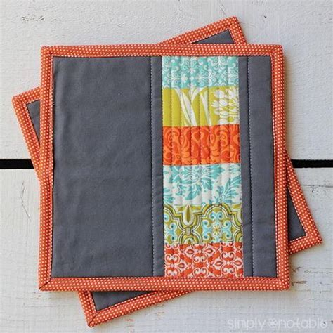 Free Potholder Quilt Patterns by 25 Best Ideas About Modern Quilt Patterns On