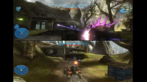 what is couch co op halo reach split screen local couch co op youtube