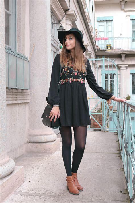 Porter Robe Hiver - look comment porter une robe courte en hiver a