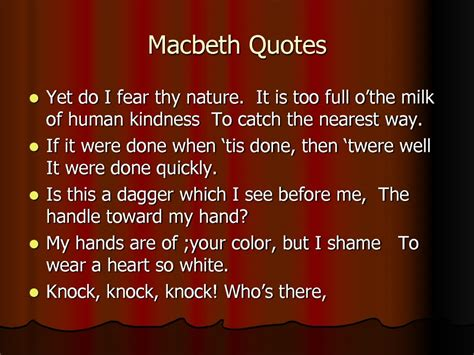 macbeth themes and supporting quotes image gallery macbeth quotes