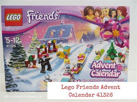 Friends Advent Calendar lego friends advent calendar 41326 et speaks from home