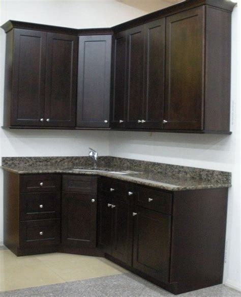staining kitchen cabinets espresso vanity is similar style to this dark espresso brown