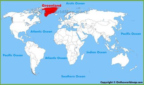 green land greenland map world mymapblog