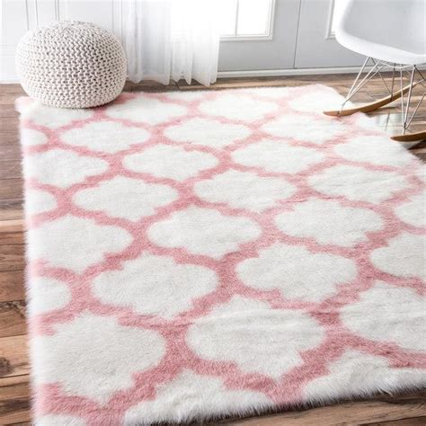 light pink trellis rug pink and white rug roselawnlutheran
