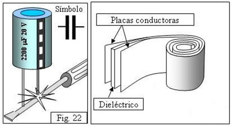 define capacitor en fisica educarchile psu