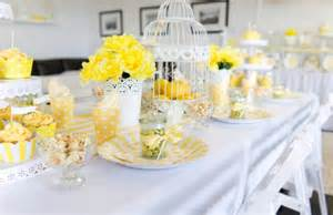 Green And Yellow Curtains Decorating 35 Table Decoration Ideas In Green And Yellow Color