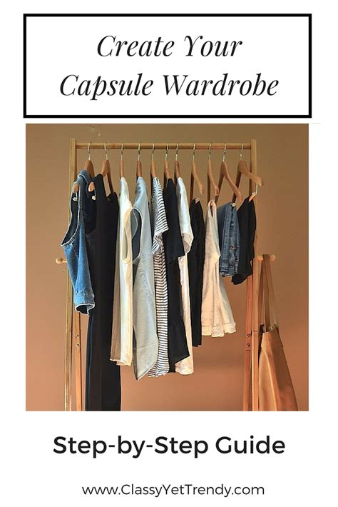 How To Create A Capsule Wardrobe by Yet Trendy Page 26 Of 89 Fashion Lifestyle