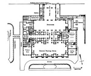 grand central station floor plan architakes detroit s grand central michigan central station