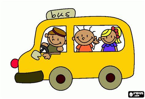 imagenes furgon escolar buses escolares animados imagui