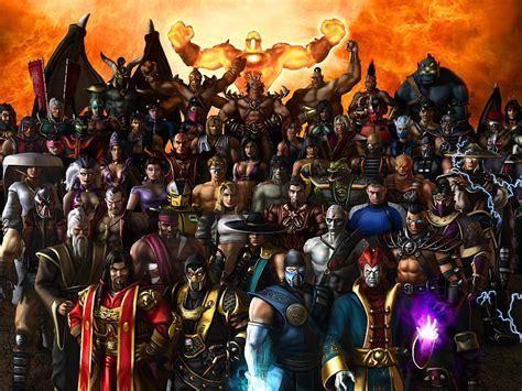 imagenes hd de mortal kombat x todos los personajes en el juego mortal kombat fondos de