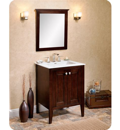 fairmont designs bathroom vanity 104 v2421 fairmont designs bowtie 24 quot modern bathroom vanity in espresso