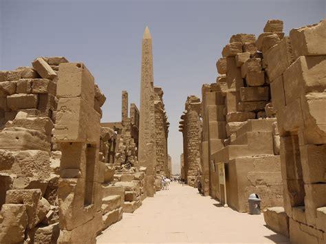 Egyptian Diaries: Day 1 ? Karnak Temple   Nameless in