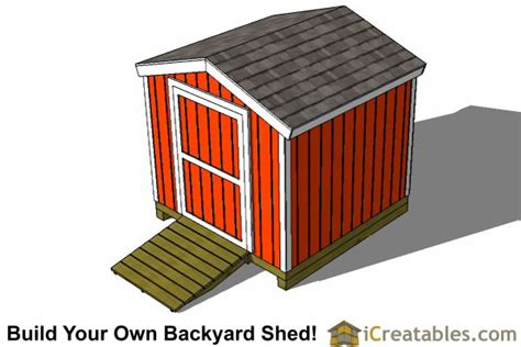 8x8 Storage Shed Plans by 8x8 Backyard Shed Plans Icreatables