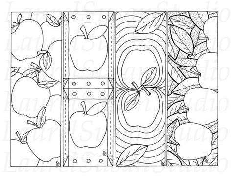 printable autumn bookmarks to color 28 best bookmarks images on pinterest