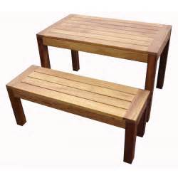 Wood Bench Iroko Wood Bench From Ultimate Contract Uk