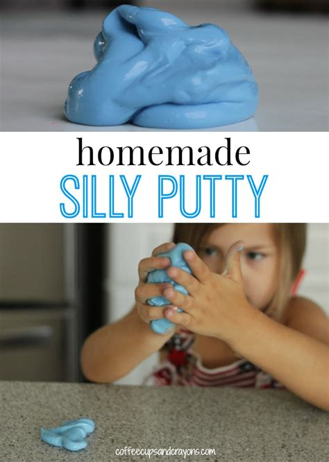 diy silly putty without borax how to make silly putty