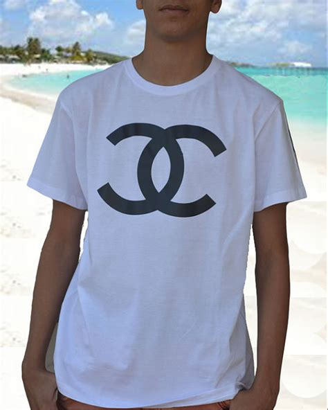 Coco Channel You Tshirt coco chanel tshirt inspired cc logo channel shirt xs by celebritee