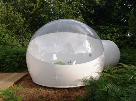 backyard bubble half clear inflatable bubble tent outdoor inflatable lawn