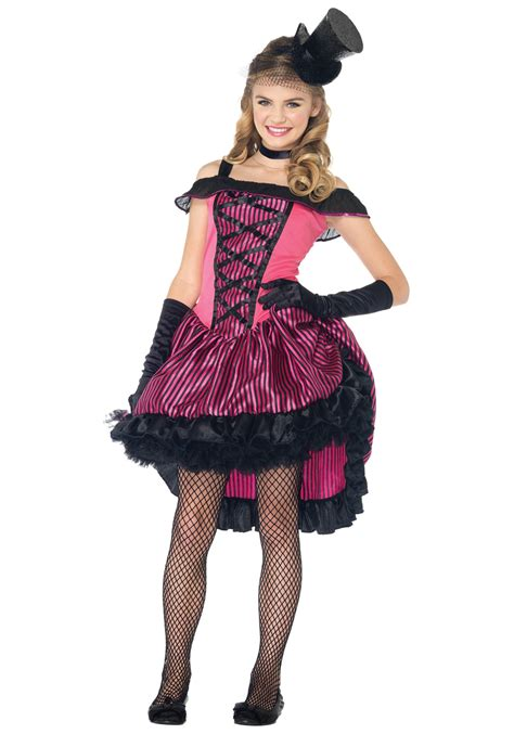 halloween costumes for teen girls teen can can girl costume