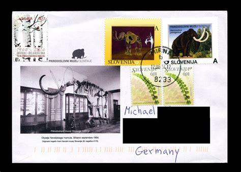 Aufkleber Vom Briefkasten Entfernt by Philaseiten De Motiv Dinosaurier Urzeitviecher Und Das
