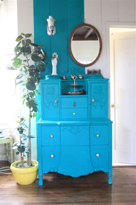 dwell of decor brilliant turquoise furniture and painting 17 best images about turquoise painted furniture on