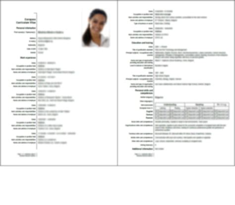 Resume Vs Cv Nz Skills Resume Vs Chronological Worksheet Printables Site